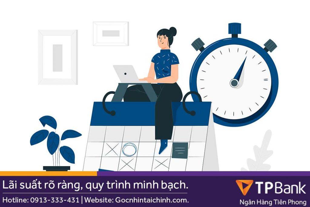 Quy trình thẩm định vay tín chấp TPBank mất bao lâu?