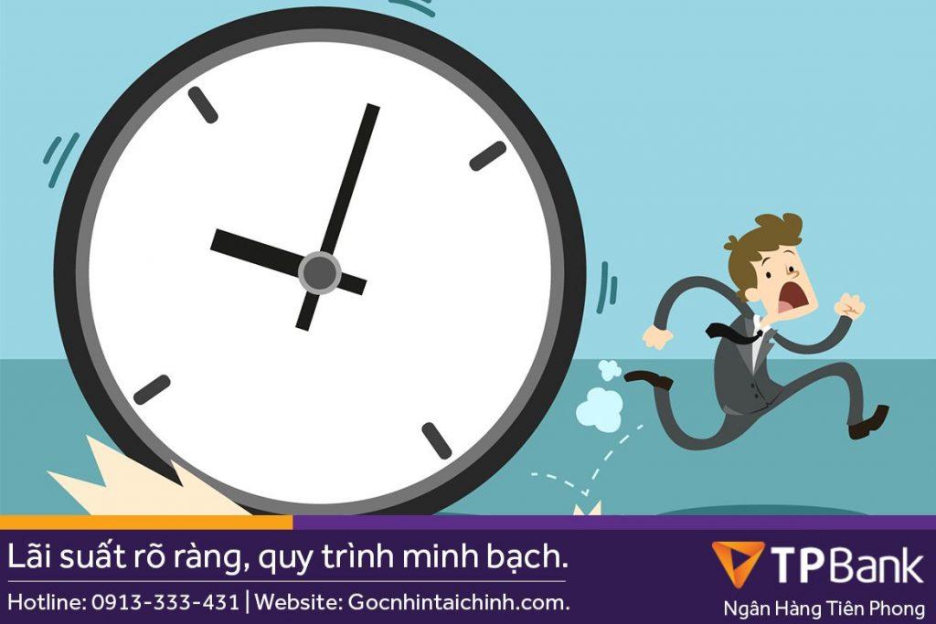 Thời gian xét duyệt khoản vay TPBank