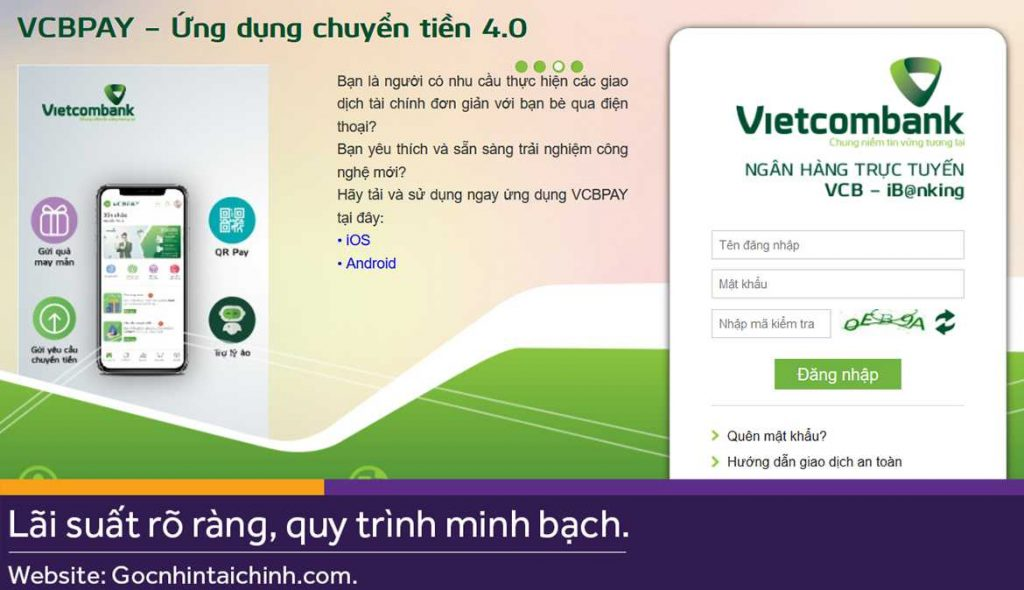 Internet Banking Vietcombank là gì?