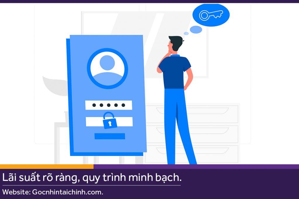 Quên tên đăng nhập Internet Banking Vietcombank