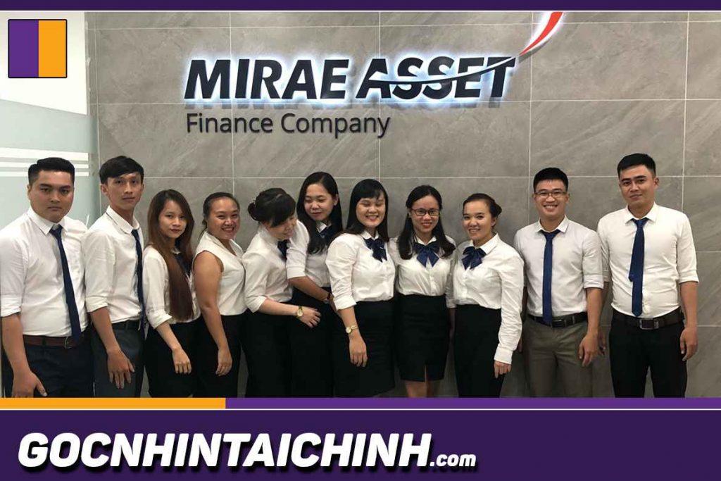 Dịch vụ tín dụng Mirae asset.