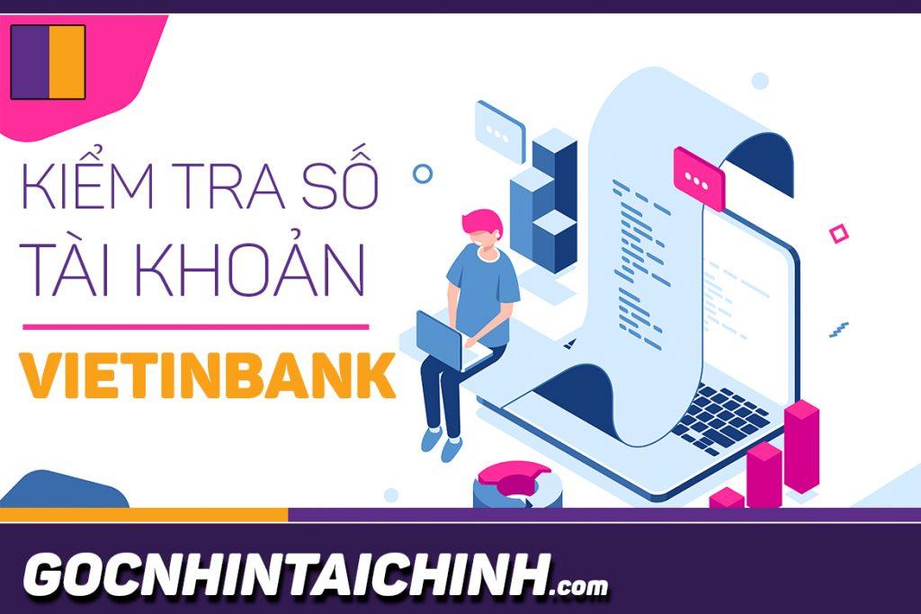 5 Cách kiểm tra số dư tài khoản Vietinbank.