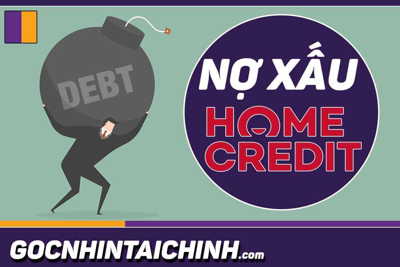 cách xoá nợ xấu home credit