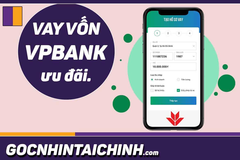 lãi suất vay tín chấp VPBank mới nhất 2020