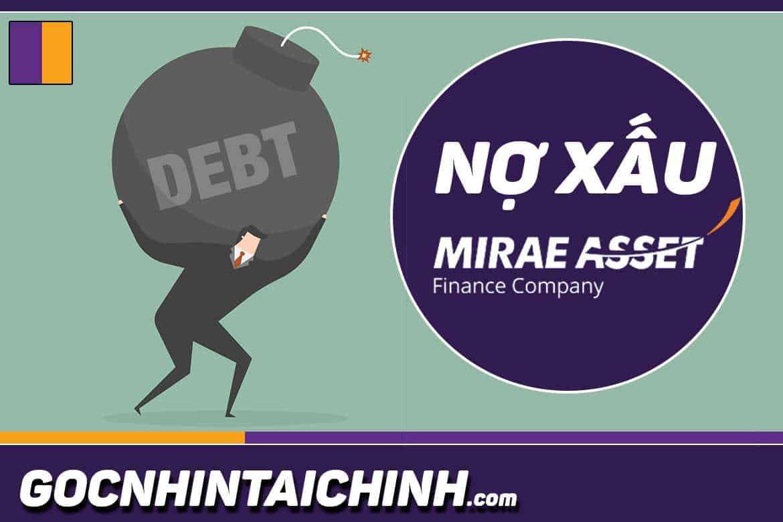 Nợ xấu ngân hàng Mirae asset