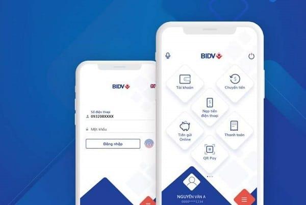 Lấy lại mật khẩu BIDV Smart Banking trên Smartphone