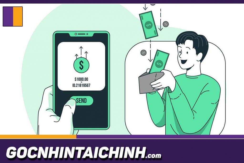 Các bước vay tiền qua app hiện nay.