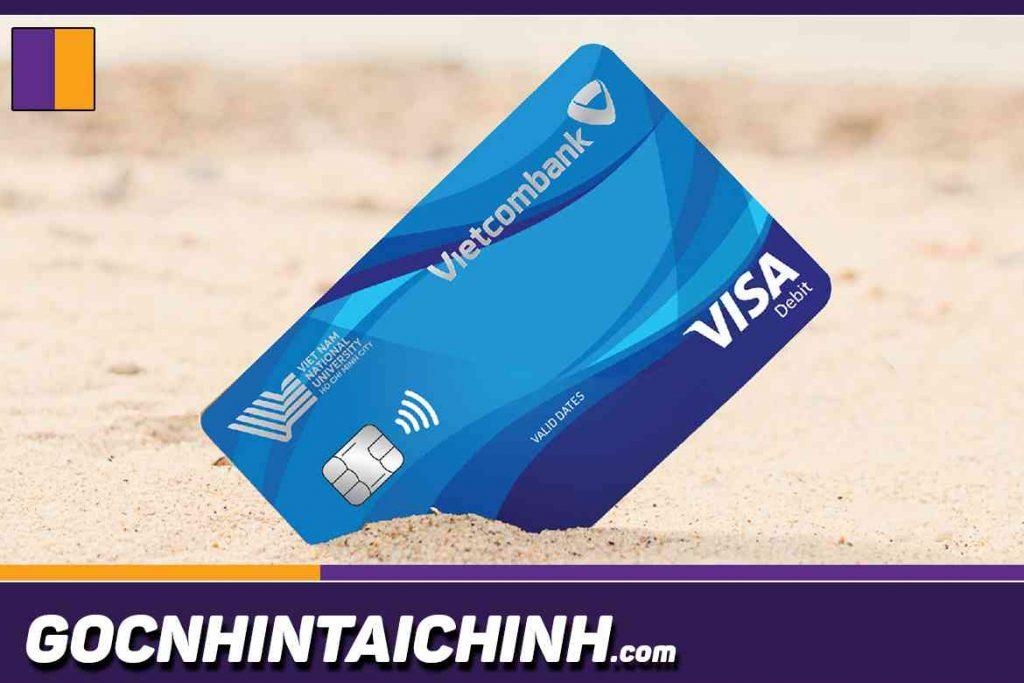 Đôi nét về thẻ ATM Vietcombank.