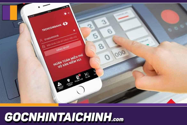 phí rút tiền ATM Techcombank
