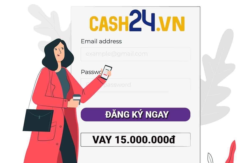 vay tiền cash24