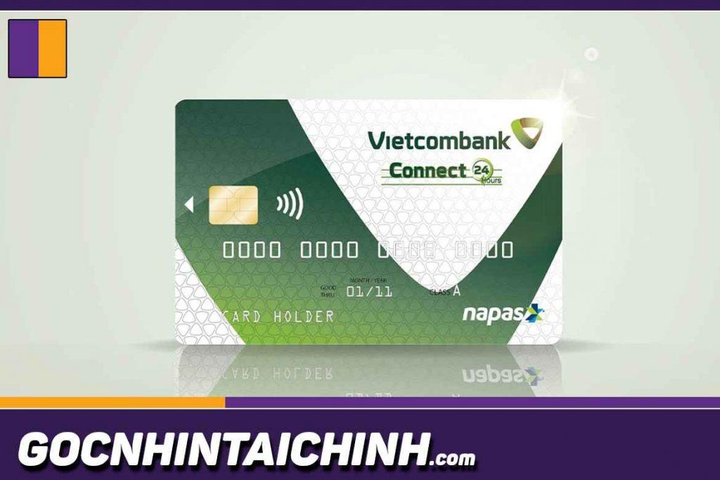 Cách làm thẻ ATM online Vietcombank.