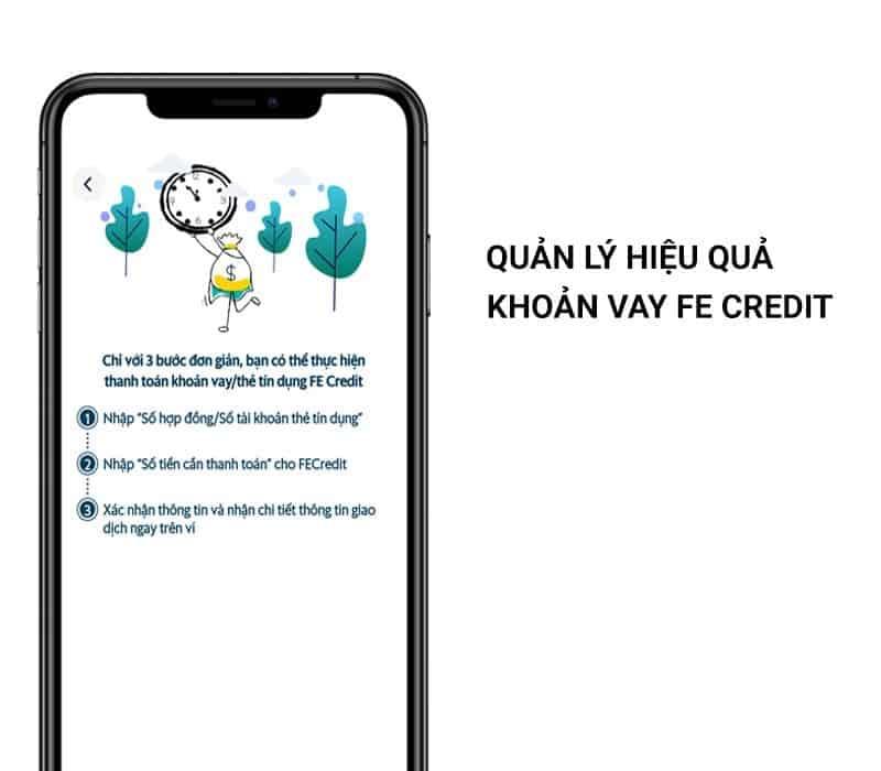 Quản lý, giám sát khoản vay FE Credit