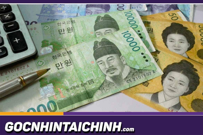1 Won bằng bao nhiêu tiền Việt: Đổi tiền Hàn ở đâu uy tín?