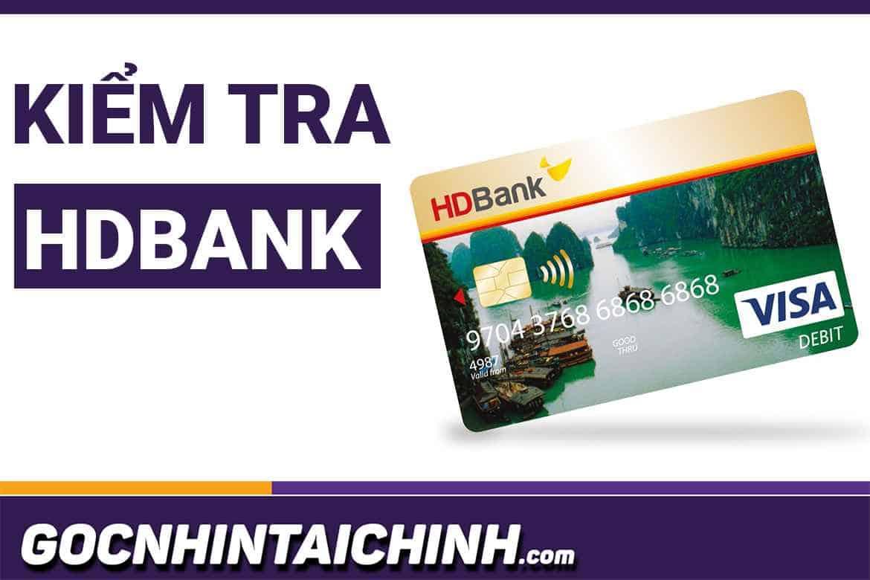 #6 Cách kiểm tra số dư tài khoản HDBank đơn giản 3 Phút.