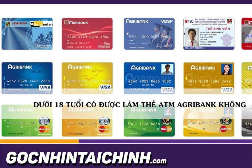 Đăng ký, mở các các thẻ ATM Agribank nhanh nhất.
