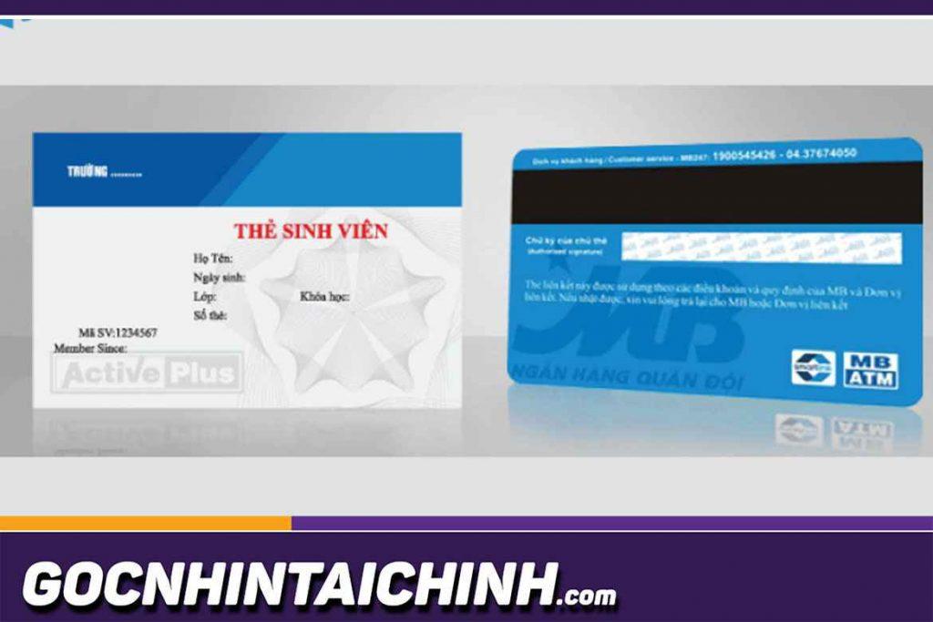Thẻ liên kết sinh viên agribank