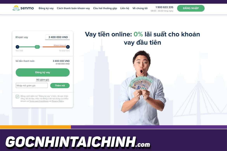 Senmo: Hướng dẫn vay tiền online 0% lãi suất cho người mới.