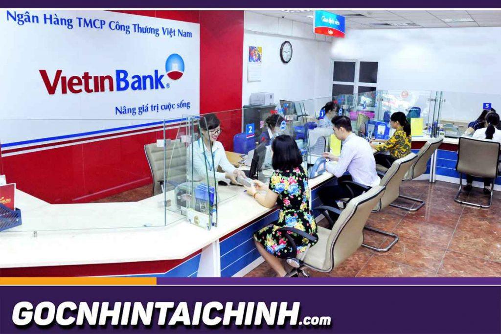 Lãi suất vay vốn ở Vietinbank bao nhiêu?