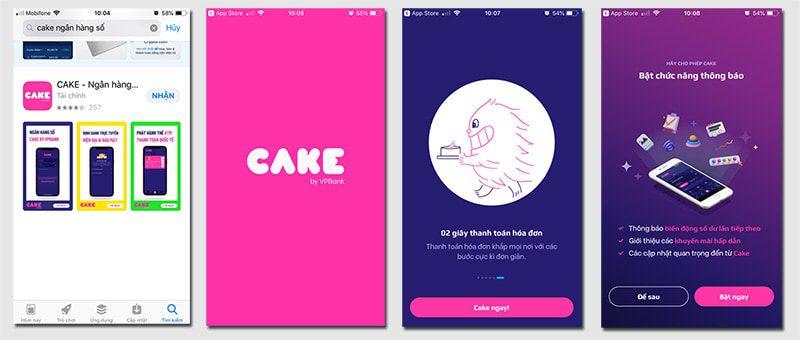 Bước 1: Truy cập vào CHplay nếu bạn dùng hệ điều hành Android hoặc Appstore nếu bạn dùng hệ điều hành IOS để tài ứng dụng Cake về điện thoại