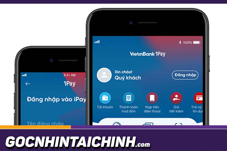 Cách mở khóa thẻ Vietinbank trên điện thoại bằng iPay