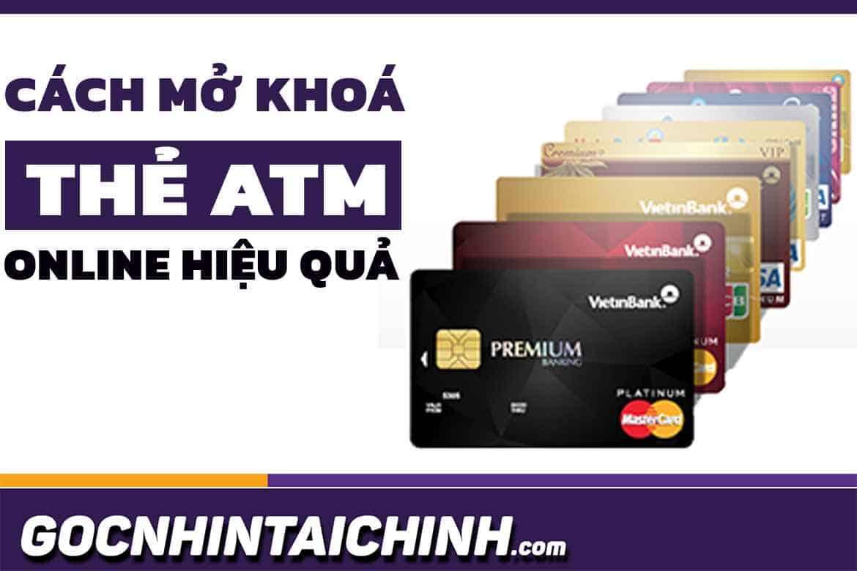 Thẻ ATM Vietinbank bị khóa có nhận được tiền không?