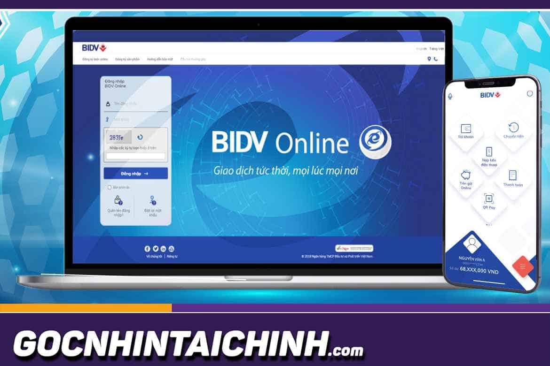 Cách thay đổi số điện thoại Smart Banking BIDV Online