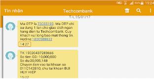 Tra cứu số tài khoản qua SMS Banking – Home Banking